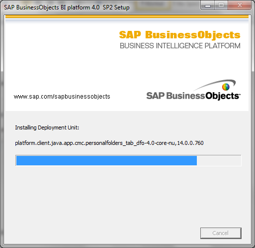 SAP BO BI 4.0 SP2 Installation29