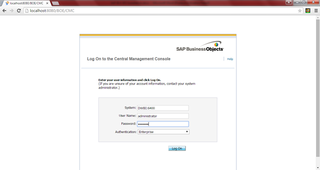 SAP BO BI 4.0 SP2 Installation33
