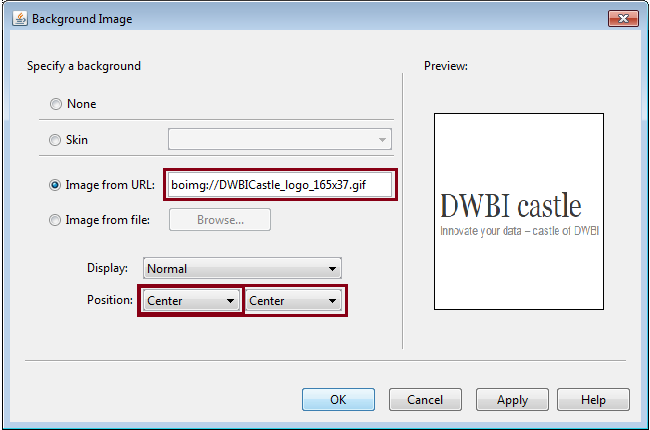 Dynamic Image in Webi3