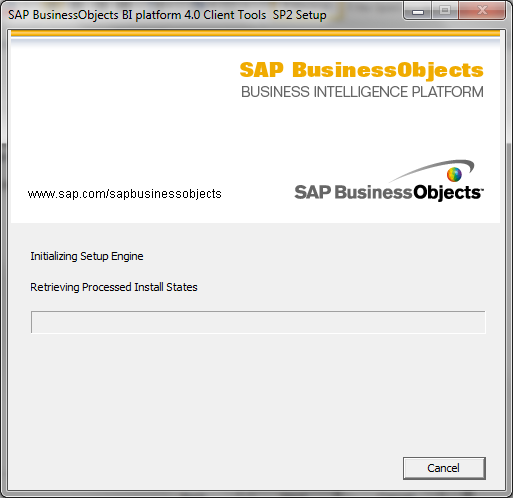 SAP BI 4.0 client tools installation10