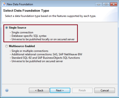 How to create SAP BO Universe ( unx) using Information Design Tool